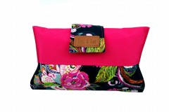 Mama Clutch Nappy Wallet - Siena Pink