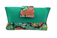 Mama Clutch Nappy Wallet- Gen Green