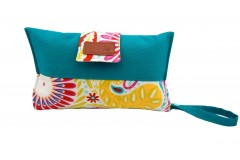 Mama Clutch Nappy Wallet with wristlet- Sandra