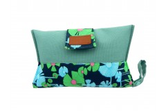 Mama Clutch Nappy Wallet with wristlet- Florence