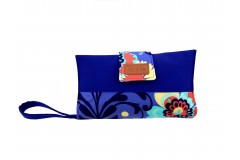 Mama Clutch Nappy Wallet with wristlet- Mim