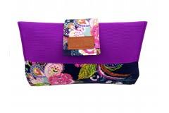 Mama Clutch Nappy Wallet - Siena Purple